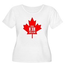 The Eh Team Plus Size Scoop Neck Shirt