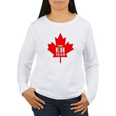 The Eh Team Womens Long Sleeve T-Shirt