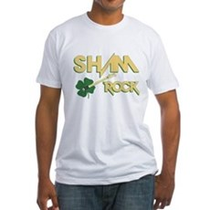 Sham Rock Fitted T-Shirt