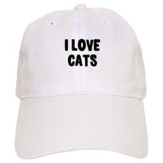 I Love Cats Cap