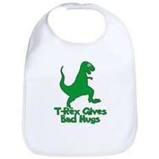 T-Rex Gives Bad Hugs Bib
