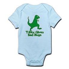 T-Rex Gives Bad Hugs Infant Bodysuit