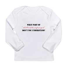 Shall Not Be Infringed Long Sleeve Infant T-Shirt