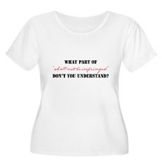 Shall Not Be Infringed Womens Plus Size Scoop Nec