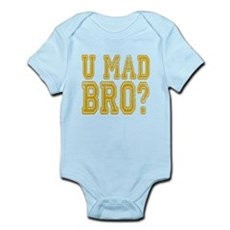 U Mad Bro Body Suit