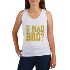 U Mad Bro Tank Top