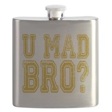 U Mad Bro Flask