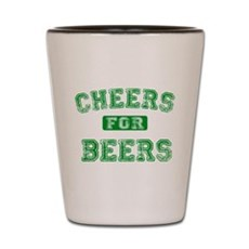 Cheers for Beers Shot Glass
