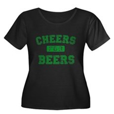 Cheers for Beers Plus Size T-Shirt