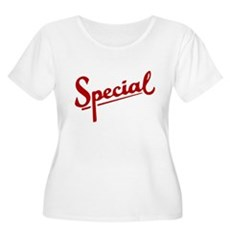 I'm Special Plus Size Scoop Neck Shirt