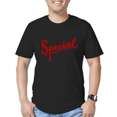 I'm Special Mens Fitted Dark T-Shirt