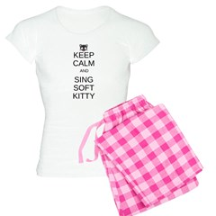 Keep Calm Soft Kitty Pajamas