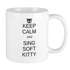 Keep Calm Soft Kitty Mug