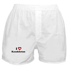 I Love [Heart] Kazakhstan Boxer Shorts