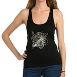 Anderson Tartan Lion Racerback Tank Top - Scottish lion rampant with the Anderson clan tartan and a banner with the family name. - Availble Sizes:Small,Medium,Large,X-Small - Availble Colors: Black,Navy,Teal,Poppy