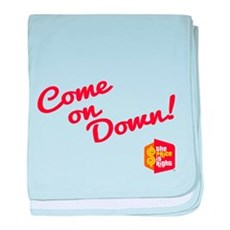 Come on Down baby blanket