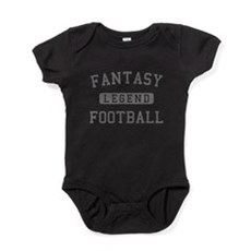 FANTASYFOOTBALLLEGEND copy Baby Bodysuit