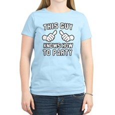 This Guy Knows How to Party T-Shirt