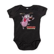 Courage the Cowardly Dog Baby Bodysuit