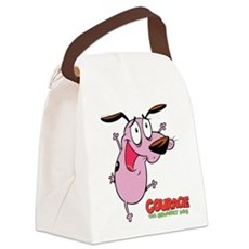Courage the Cowardly Dog Canvas Lunch Bag