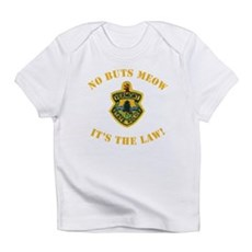 No Buts Meow Infant T-Shirt