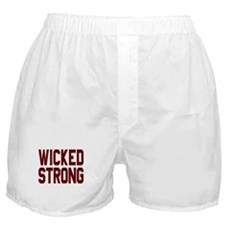 Wicked Strong Boston Boxer Shorts