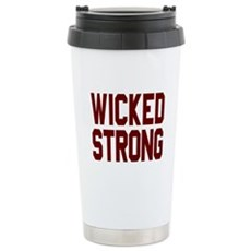 Wicked Strong Boston Travel Mug