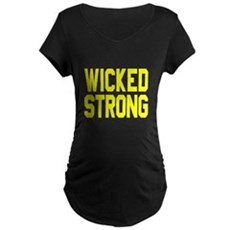 Wicked Strong Boston Maternity T-Shirt