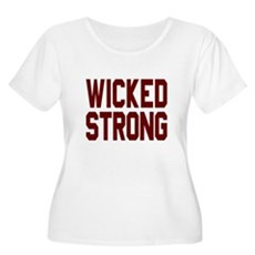 Wicked Strong Boston Plus Size T-Shirt