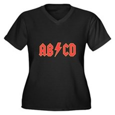 ABCD Plus Size T-Shirt