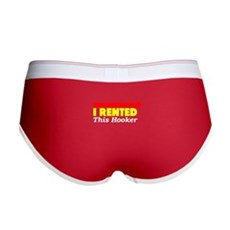 I Rented This Hooker Womens Boy Brief