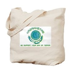 Kazakhstan - We Support Your Tote Bag