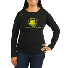 Kazakhstan - We Support Your Womens Long Sleeve