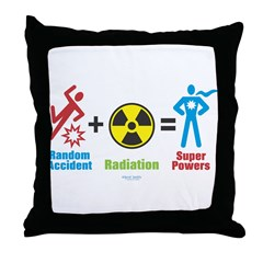 Super Powers Throw Pillow