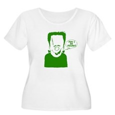 May I Be Frank Plus Size T-Shirt