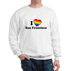 I Love [Heart] San Francisco Sweatshirt