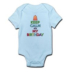 Keep Calm Its My Birthday Body Suit
