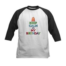 Keep Calm Its My Birthday Baseball Jersey