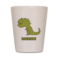 Rawrsome Shot Glass
