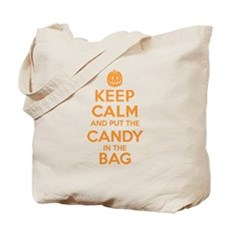 Keep Calm Candy Bag Tote Bag