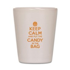 Keep Calm Candy Bag Shot Glass