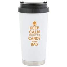 Keep Calm Candy Bag Travel Mug