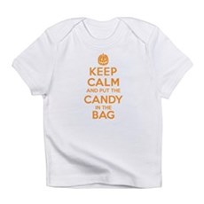 Keep Calm Candy Bag Infant T-Shirt