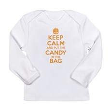 Keep Calm Candy Bag Long Sleeve T-Shirt