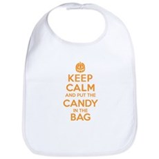 Keep Calm Candy Bag Bib