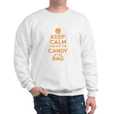 Keep Calm Candy Bag Sweatshirt