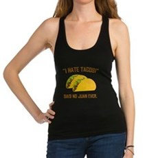 I Hate Tacos Racerback Tank Top