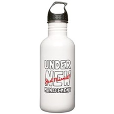 Under New Management Water Bottle