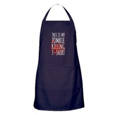 This is My Zombie Killing Apron (dark)