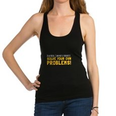 Dear Math Racerback Tank Top